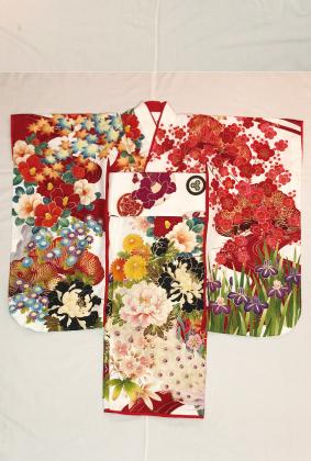 990九重×中村里砂赤/白満開四季の花々